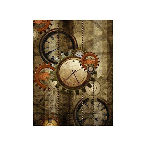 Clock Poster//Abstract Clocks