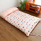 AMYDREAMSTORE Children Cotton nap mat Non-slip Bed mattress Topper Folding Single Thickening Kindergarten students Floor mats-B 67x120cm(26x47inch)