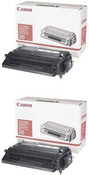 PC 20 Black OEM Toner Cartridge 2 Pack 2000 Page-Yield Per Ctg PC20