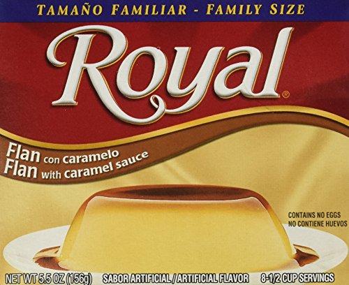 Royal Flan With Caramel Dessert Mix 5.5oz
