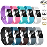 AIUNIT Fitbit Charge 2 Bands, Fitbit Charge 2 Accessories...