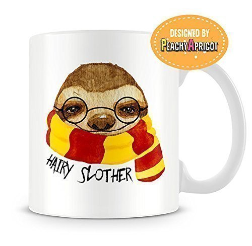 Hairy-Slother-coffee-mug-Sloth-Mug