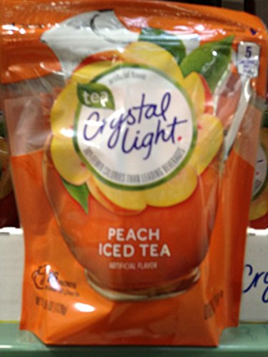 Crystal light peach tea sticx 16 ct (pack of 6)