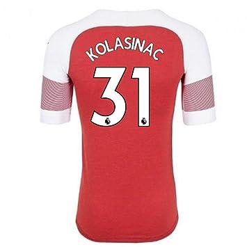 2018-2019 Arsenal Puma Home Authentic Evoknit Football Soccer T-Shirt Camiseta (Sead
