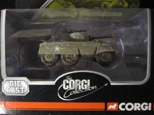 M8 Greyhound Light Armored Car Battle of the Bulge By Corgi Wheelz Fighting Machines - Greyhound Armored M8 Car