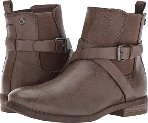 Roxy Women's Ortiz Ankle Bootie, Chocolate, 6 M US