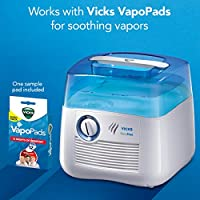 Vicks V3900 Germ Free Cool Mist Humidifier Cool Mist Humidifier To Help Relieve Cold And Flu Symptoms Amazon Sg Health Personal Care