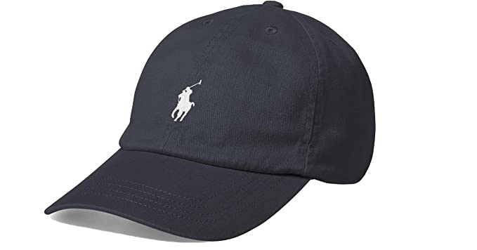 4c84afbcb9e Polo Ralph Lauren Men`s Cotton Chino Baseball Cap (Dark Carnon Grey (3002