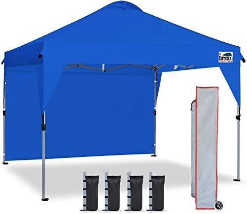 Eurmax Outdoor Pop Up Portable Shade Canopy Quick Tent Canopy Instant Canopy 10ftx10ft Picnic Canopy Collapsible Gazebo