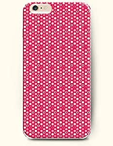 SevenArc Apple iPhone 6 Case 4.7 Inches - Little White and Rose Circles by mcsharks