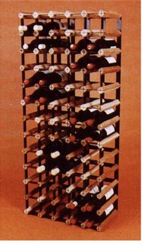 Vinotemp VT-CT65 65 Bottle Cellar Trellis Wooden Wine Rack
