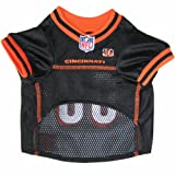 Pets First NFL Cincinnati Bengals Jersey, X-Small, My Pet Supplies