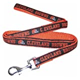 Pets First NFL Cleveland Brown Pet Leash, Large