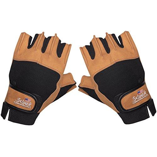 Schiek Sports 415 Power Lifting Gloves (Schiek Lifting Gloves Xs)