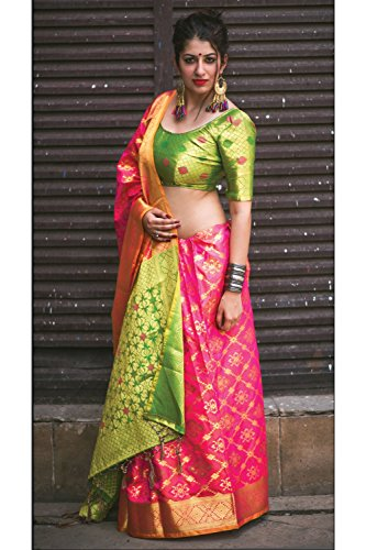 Da Facioun Indian Sarees For Women Wedding Designer Party Wear Traditional Redsari. Da Facioun Saris Indiens Pour Les Femmes Portent Partie Concepteur De Mariage Redsari Traditionnel. Multi 8 Plusieurs 8