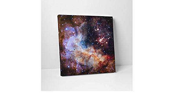 ESA and the Hubble Heritage Team Gallery Wrapped Canvas Wall Art Print D4060 Detail 3 NASA The Star Cluster Westerlund 2