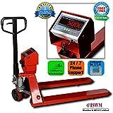 New Prime Scales PS-5000PJ Pallet Truck Scale | Pallet Jack Scale 5000x1lb Low Profile