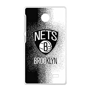 New Style Custom Picture New Jersey Nets NBA Fahionable And Popular Back Case Cover For Nokia Lumia X