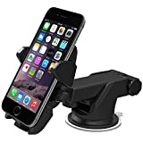 lock para autos - Auto Lock Universal Car 360° Rotating Windshield Mount Holder for Cell Phone GPS