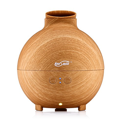 Housmile (600ml ,Wood Grain) Essential Oil Diffusers Ultr...