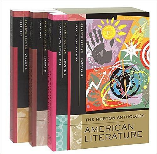Norton Anthology American Literature Pdf