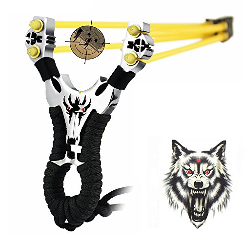 YZXLI Professional outdoor hunting stainless steel slingshot