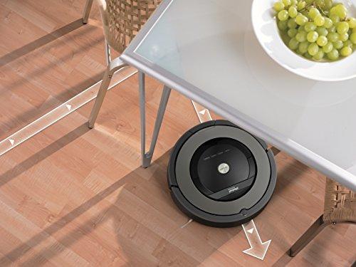 iRobot R877020 Roomba Self-Charging Robot Vacuum Black/gray