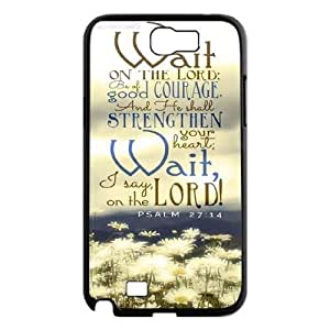 Brand New Phone For Case For Samsung Galaxy Note 2 N7100 with diy Bible Verses Christian Quotes