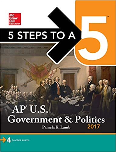 Amazon com: 5 Steps to a 5: AP U S  Government & Politics 2018