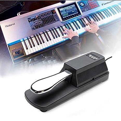 Paleo Amortiguador de pedal de sustain para HMY yamaha teclado casio de piano sostener ped: Amazon.es: Juguetes y juegos