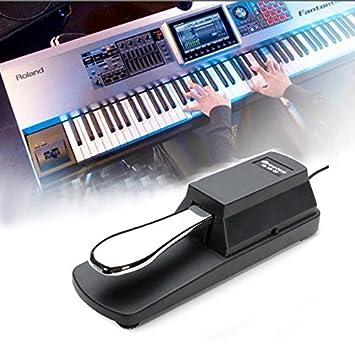 PhilMat Amortiguador de pedal de sustain para HMY yamaha teclado casio de piano sostener ped: Amazon.es: Juguetes y juegos