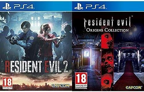 Resident Evil 2 - Edición Estándar & Evil Origins Collection ...