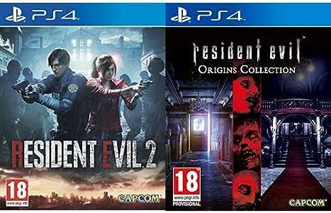 Resident Evil 2 - Edición Estándar & Evil Origins Collection: Amazon.es: Videojuegos