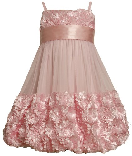 Bonnie Jean Big Girls' Mesh Bubble Skirt Dress