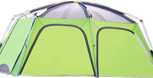 Lisansang Tiendas de campaña Toldo automático portátil for el hogar Tienda de campaña Familiar a Prueba de Agua Picnic al Aire Libre Senderismo Pesca (Color : Green, Size : One Size): Amazon.es: