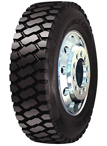 Double Coin RLB800 Premium Deep Tread On/Off Highway Severe Service Drive-Position Commercial Radial Truck Tire - 11R22.5 16 ply