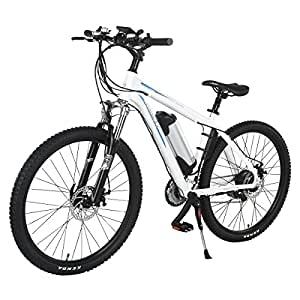 onway 26 inch 21 speed electric mountain bike. Black Bedroom Furniture Sets. Home Design Ideas