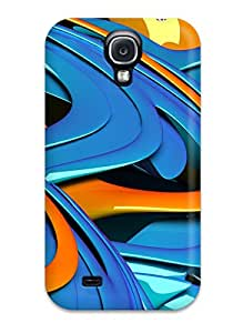 Tpu Case Cover For Galaxy S4 Strong Protect Case - 3d Design