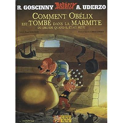 Comment Obelix est tombe dans la marmite du druide...