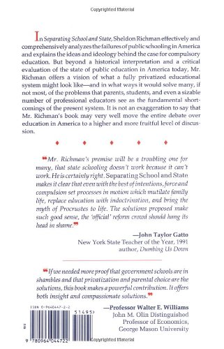 Separating School & State: How to Liberate America's Families
