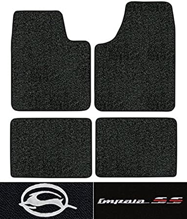 2015-2018 Chevrolet Tahoe Cutpile Carpet Logo Floor Mat 4pc