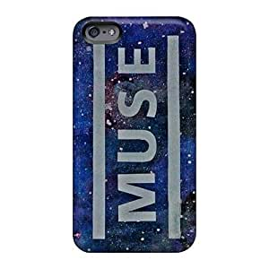 Shock Absorption Hard Cell-phone Case For Iphone 6 (HYk19004QhuO) Custom Fashion Muse Pattern