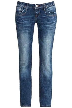 17af229663ff03 LTB Damen Jeans Valentine Kaley Low Rise Straight 50201-50645, Größe:W31 L30