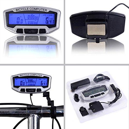 S AFSTAR Safstar LCD Bicycle Bike Cycling Computer