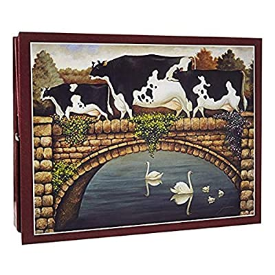 Lang Over The Bridge By Lowell Herrero Puzzle 500 Piece By Lang