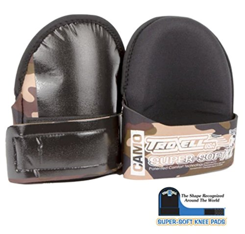 Troxell USA Super Soft Large Camo Kneepads
