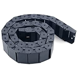 URBEST 18mm x 50mm Black Plastic Flexibl...