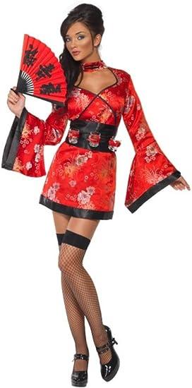 SmiffyS 20559S Disfraz De Geisha Del Vodka, Vestido Y Cinturón ...