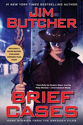 Brief Cases (Dresden Files) cover