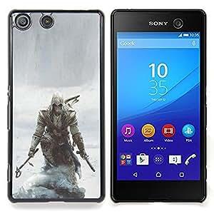 """Qstar Arte & diseño plástico duro Fundas Cover Cubre Hard Case Cover para Sony Xperia M5 E5603 E5606 E5653 (Asesinos pirata"""")"""